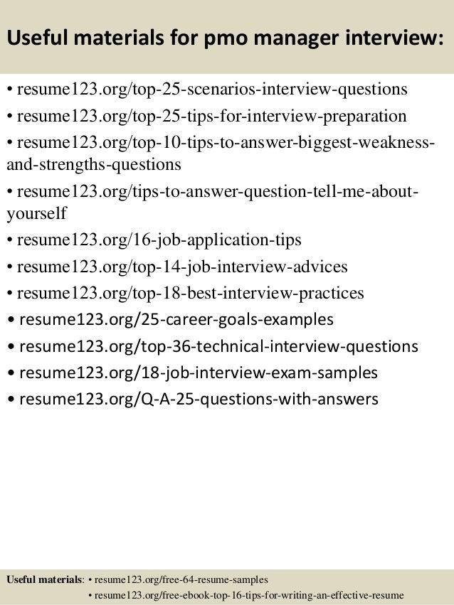Pmo Analyst Resume