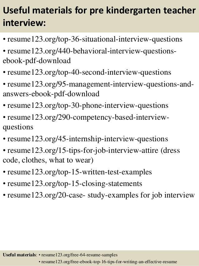 resume samples for teacher
