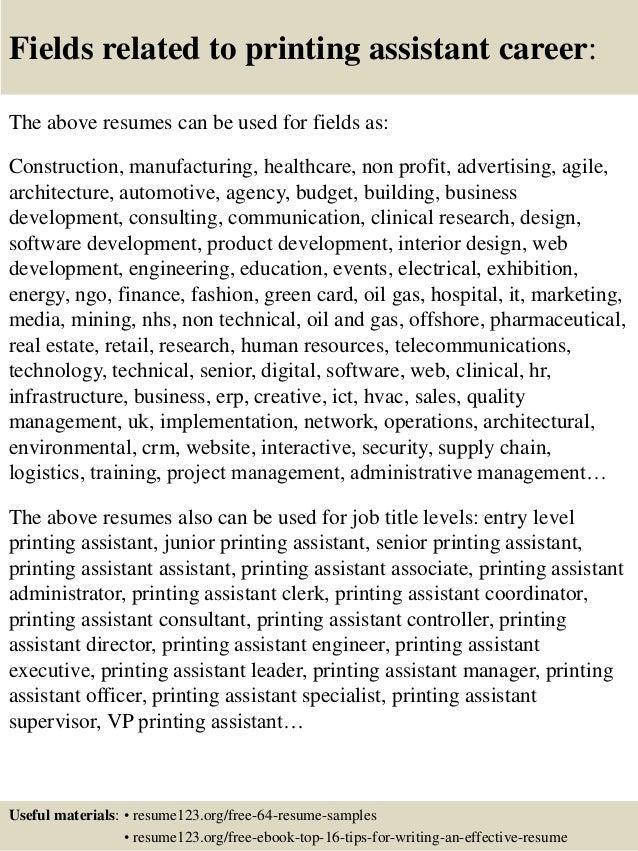 Resume Printing - Softsales.us