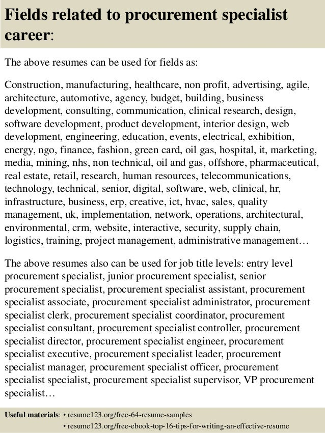 procurement resume samples orthopedic sales rep resume cover infovia net training specialist resume example benefits specialist