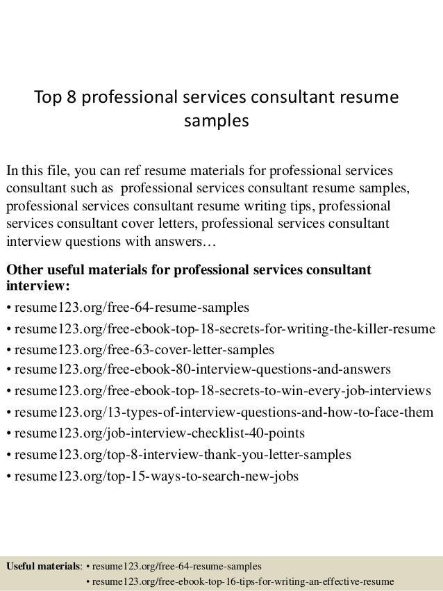 professional services consultant resume - Muck.greenidesign.co