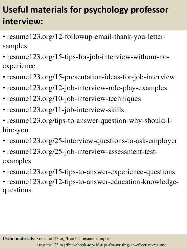 Psychology Sample Resume Sample Biotech Resume Desktop Support ...