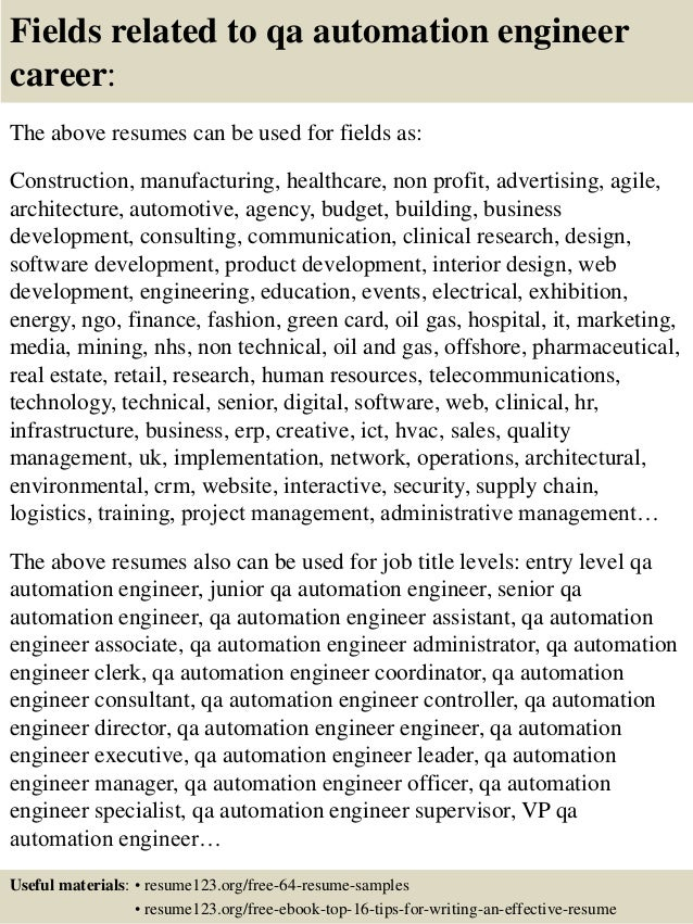 3. sample resume for software testing erp tester sample resume ...