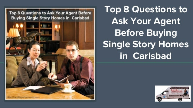 What to ask your agent before