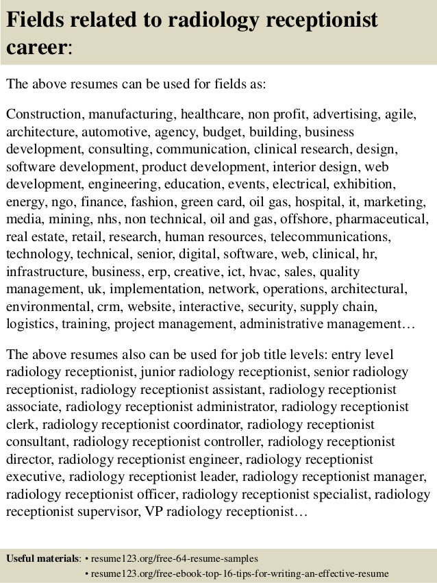 Ghostwriting - Extreme Screenwriting sample resume radiology ...