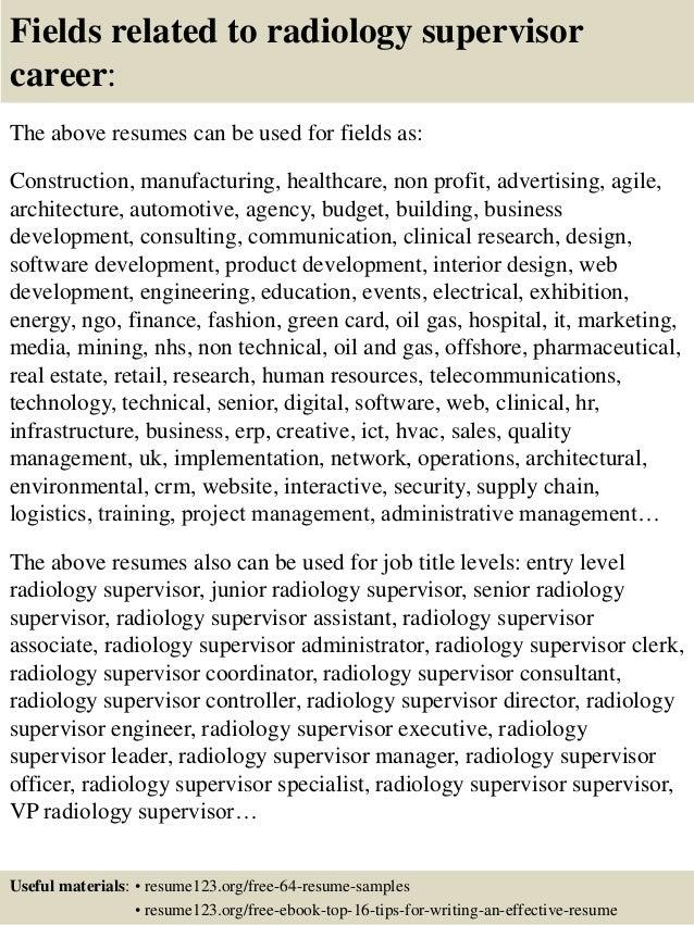 Radiologic Technologist Cover Letter Home Design Preferance  Resume For Radiologic Technologist