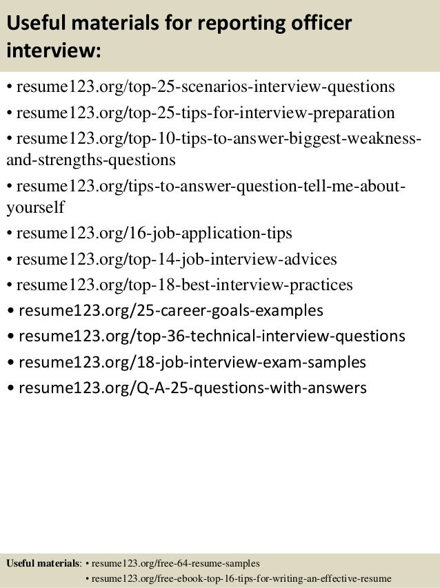 13 interview resume sample