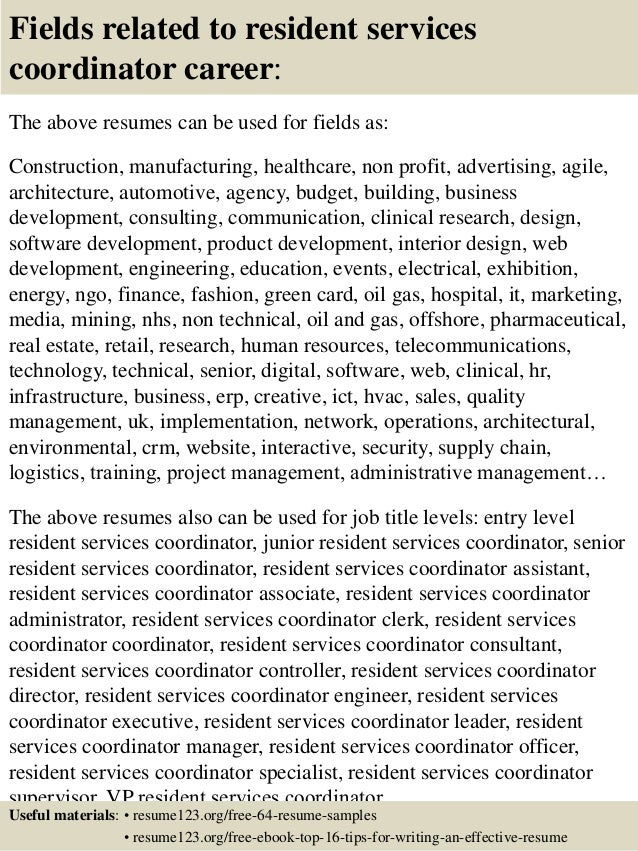Cover Letter Project Coordinator Resume Logistics Project