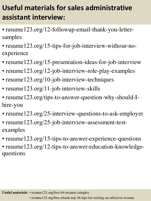 admin assistant resume objective
