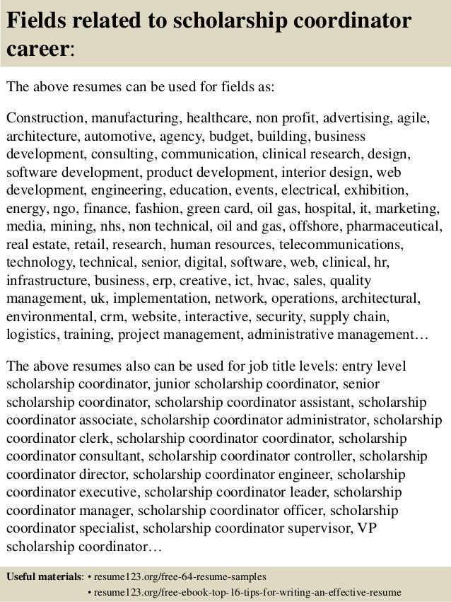 Resume Scholarship scholarship resume examplesscholarship_resumepng 16 Fields Related To Scholarship