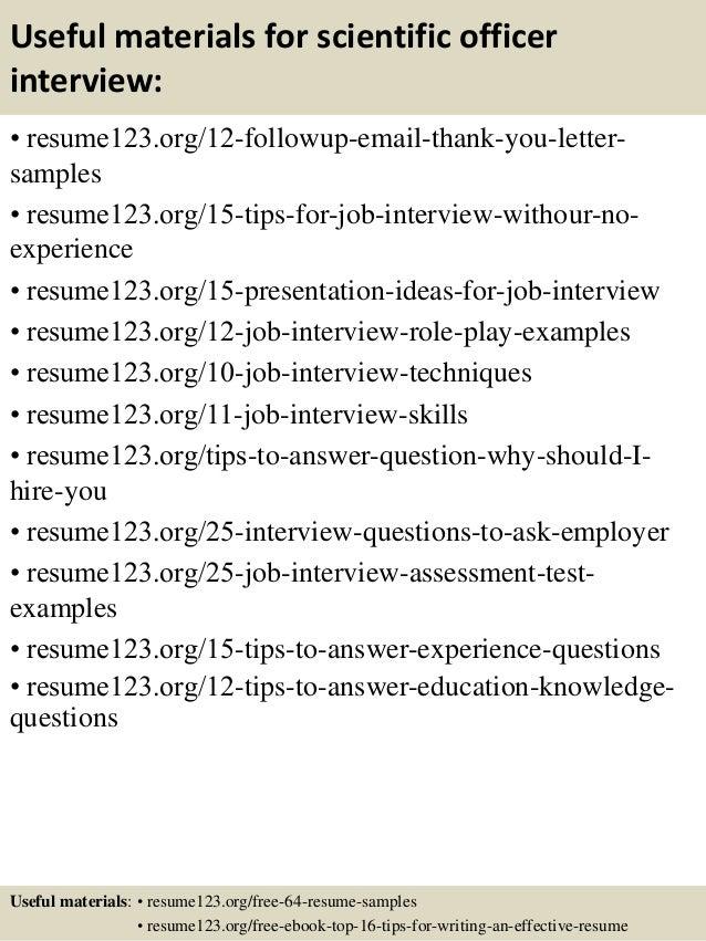 associate scientist resume