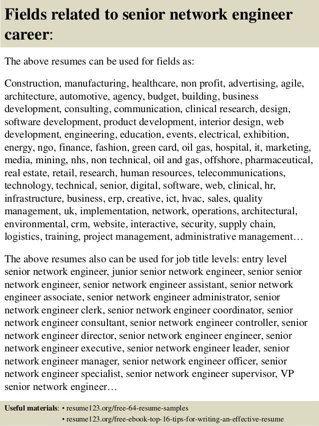Resume Networking  Resume Sample Cv Visualdnsnet Networking     Brefash