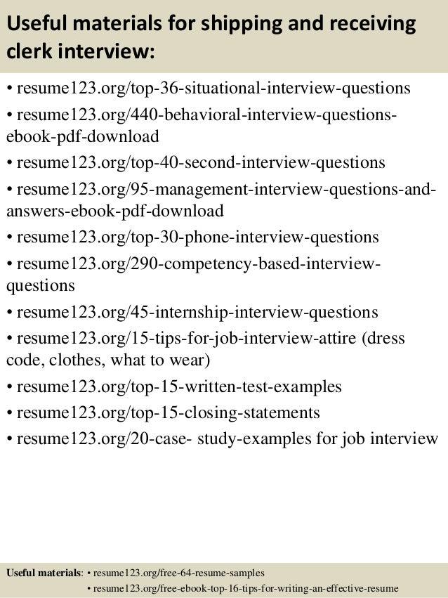 receiving clerk resume examples contegri com