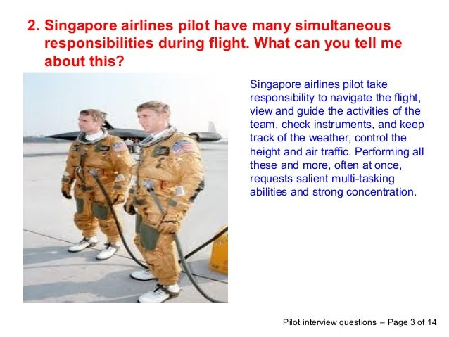 pilot interview questions page 2 of 14 3 2 singapore airlines - Airline Pilot Job Interview Questions And Answers