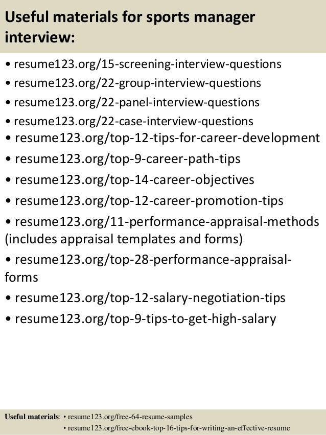 SlideShare  Manager Resume
