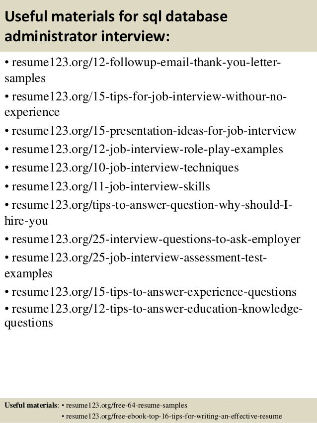 high impact database administrator resume to get noticed easily carpinteria rural friedrich oracle sql developer resume