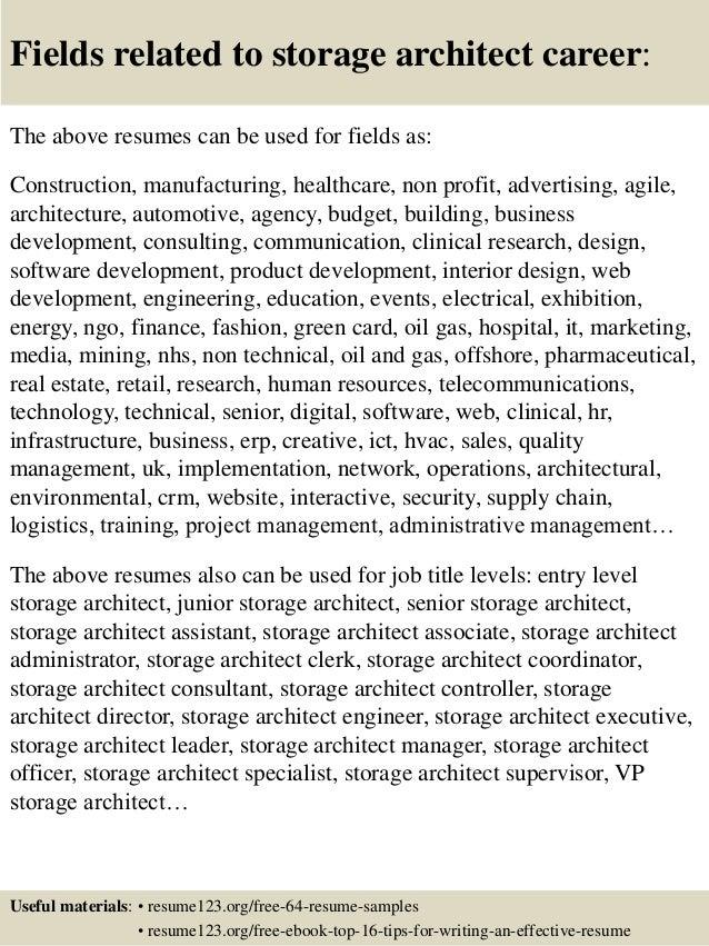 16 - Career Resume