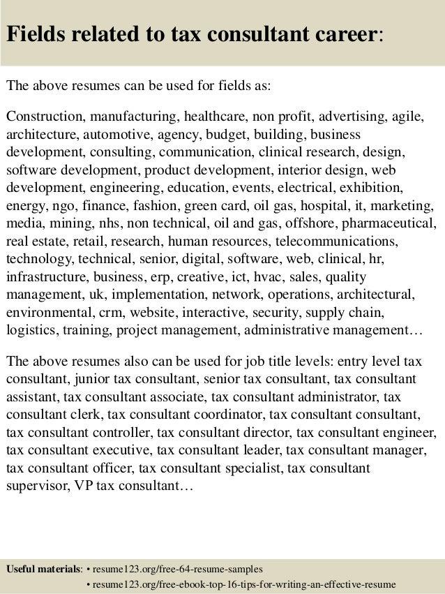 Tax Consultant Resumes. Top 8 Tax Consultant Resume Samples . Tax Consultant  Resumes. Top 8 Tax Consultant Resume Samples .