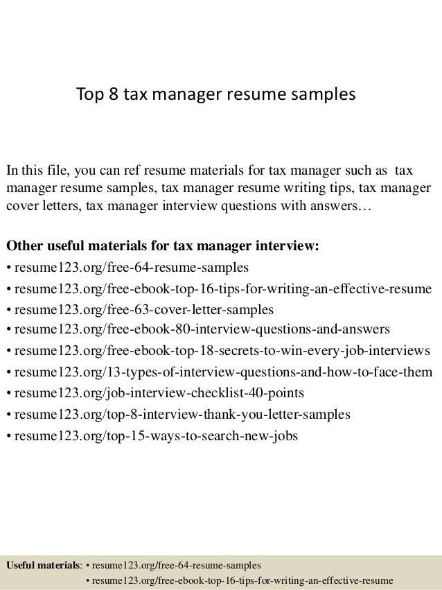 Resume Senior Tax Manager Pharmacist Cover Letter Hospital Resume Senior Tax  Manager Senior Accountant Resume Cv