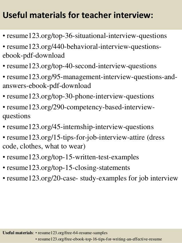 resume for teachers assistant