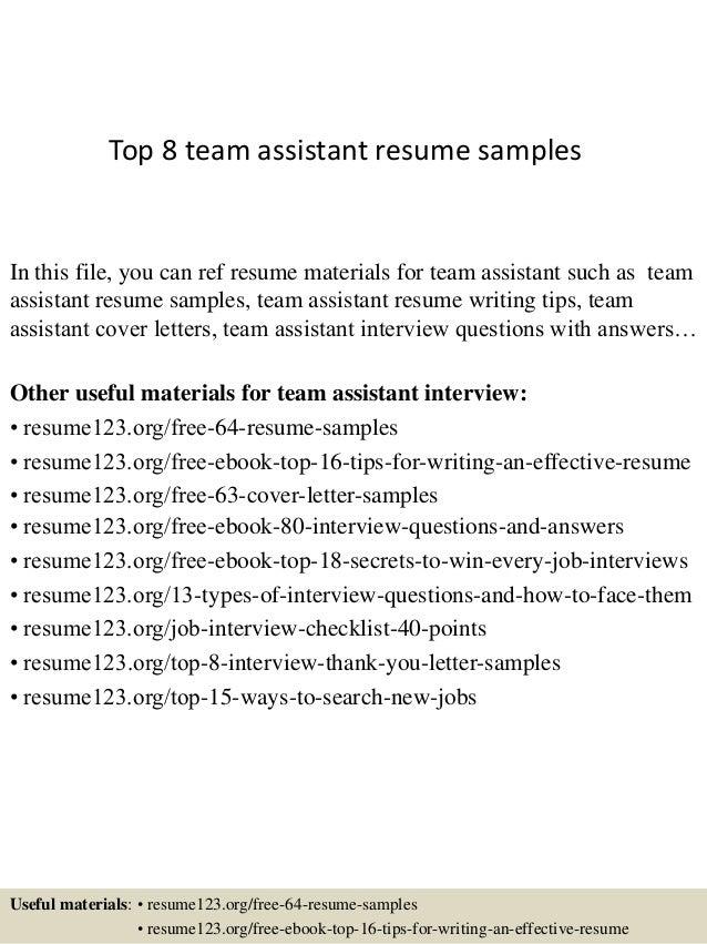 top-8-team-assistant-resume-samples-1-638.jpg?cb=1428557156