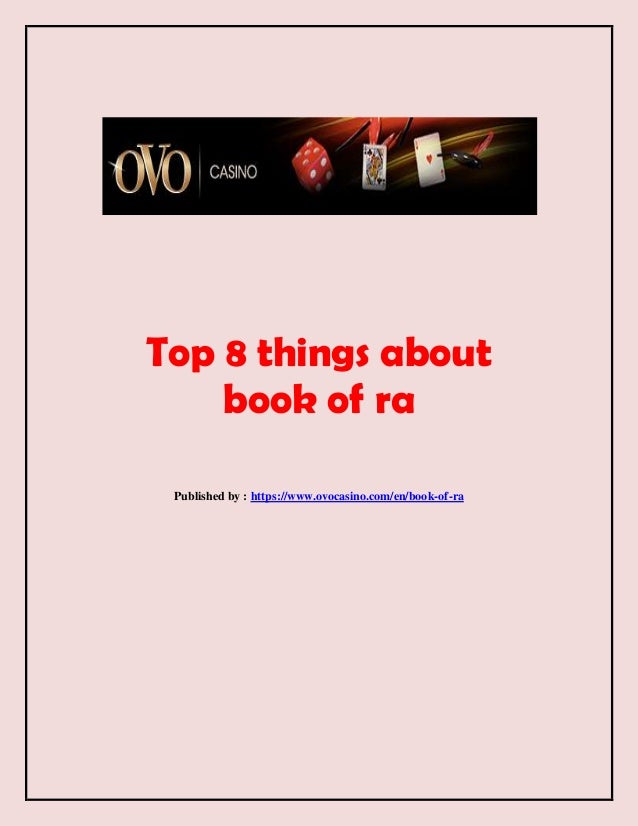 book of ra ovocasino