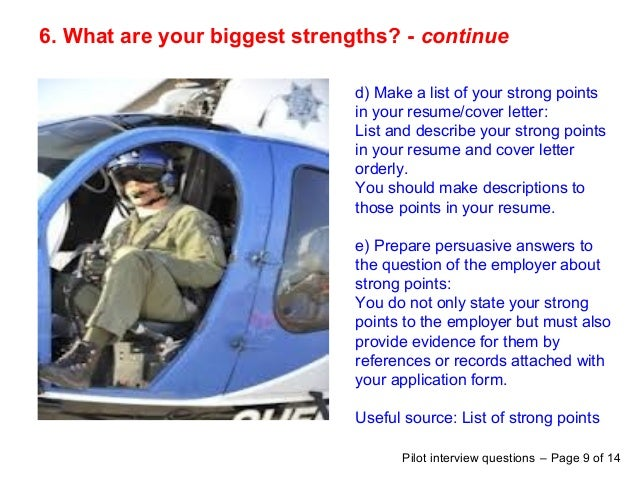 Top 8 trainee pilot interview questions answers