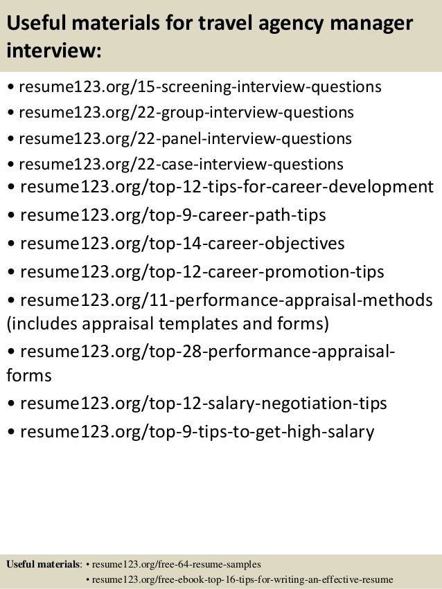 agency resume manager