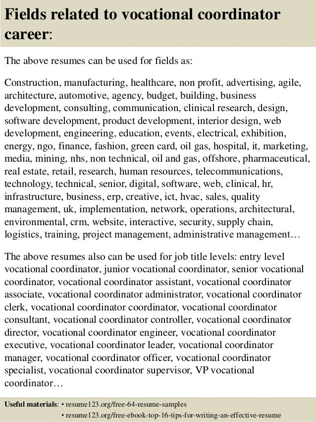 Delightful Vocational Resume Template Pinterest The World S Catalog Of Ideas Throughout Employment Specialist Resume