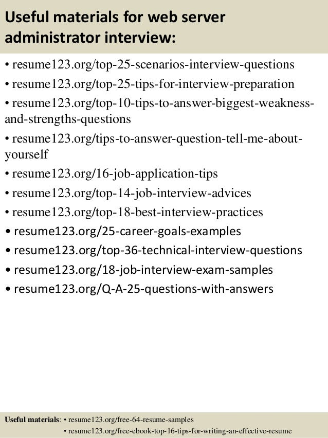 web server and application server interview questions