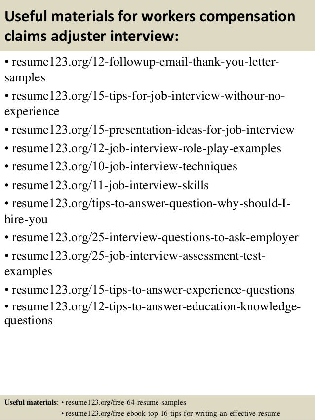 sample claims adjuster resume resume examples claims adjuster resume
