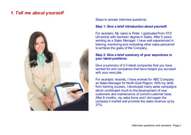 Top 9 accounts receivable interview questions answers