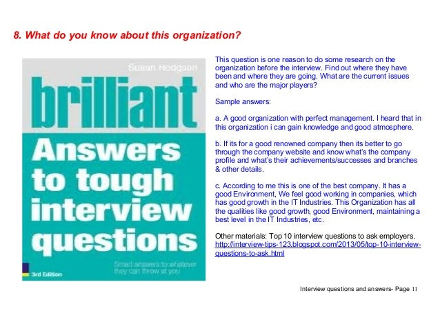 good questions to ask at interview