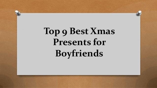 Top 9 Best Xmas Presents for Boyfriends
