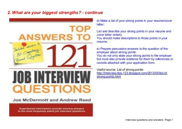 Interview Questions Database  Resume Interview Questions