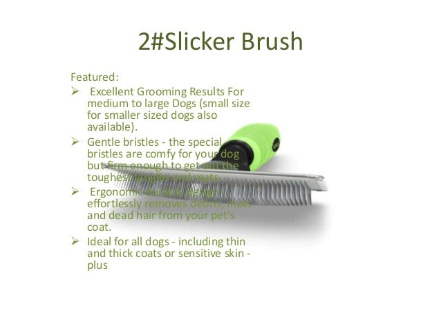 Ionic Dog Grooming Brush