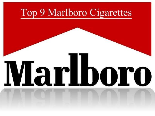 Top 9 Marlboro Cigarettes