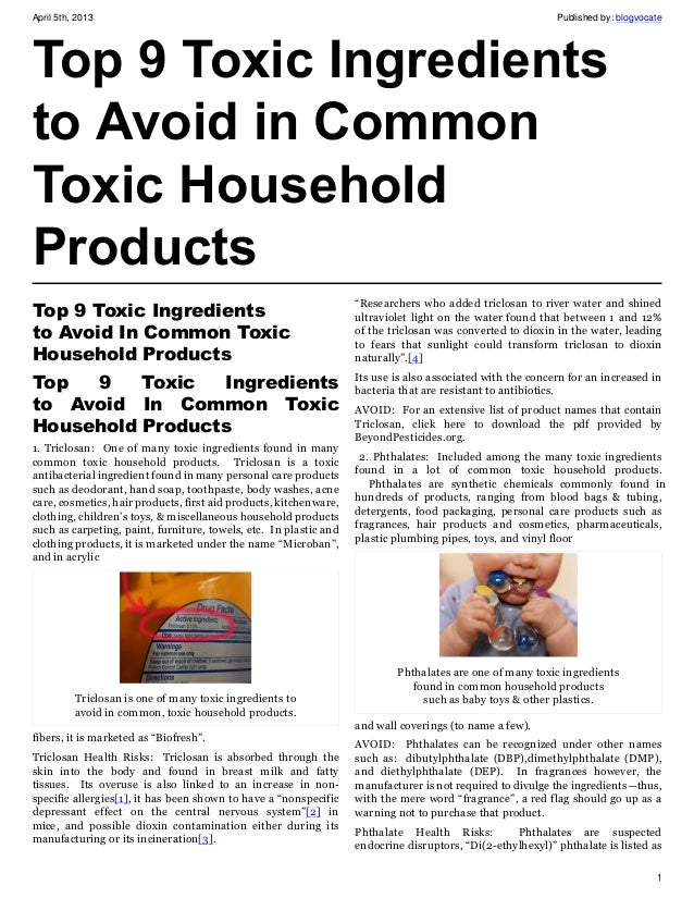 Top 9 Fashion Magazine Covers September 2013 Fashioncover: Top 9 Toxic Ingredients To Avoid In Common Toxic Household