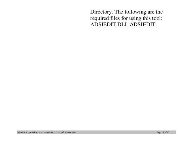 ADSI Edit - TechGenix