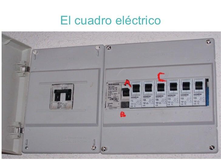 La el ctricidad - Cuadro electrico domestico ...