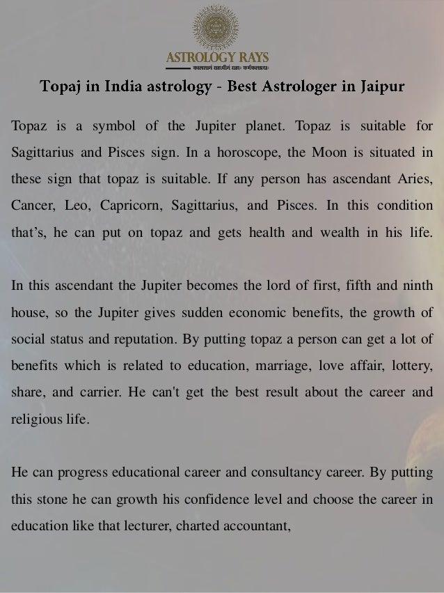 Topaj in India astrology - Best Astrologer in Jaipur