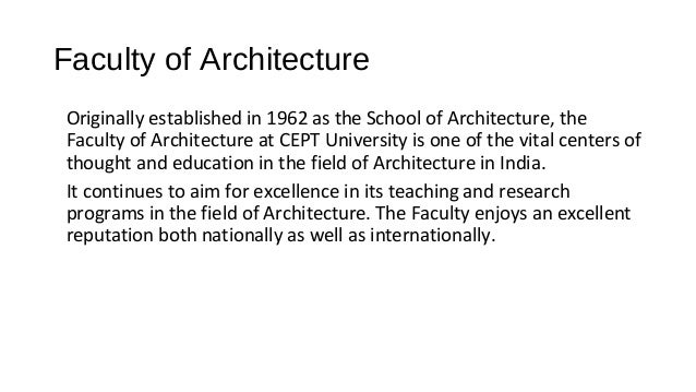 top architecture colleges in india | cept admissions
