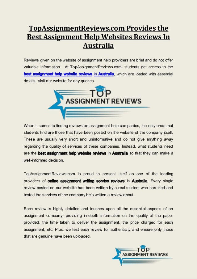 Assignment writing sites