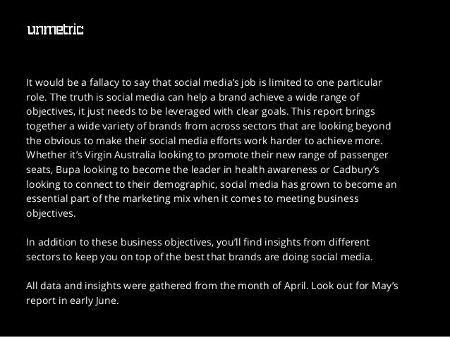 Top Australian Brands on Social Media in April 2014 Slide 3