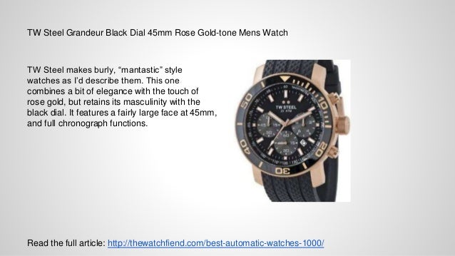 top 10 automatic watches under 1 000 the full article thewatchfiend com best automatic watches 1000 3