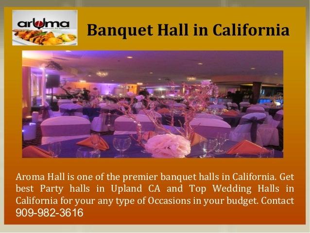top banquet hall restaurant wedding venues in california