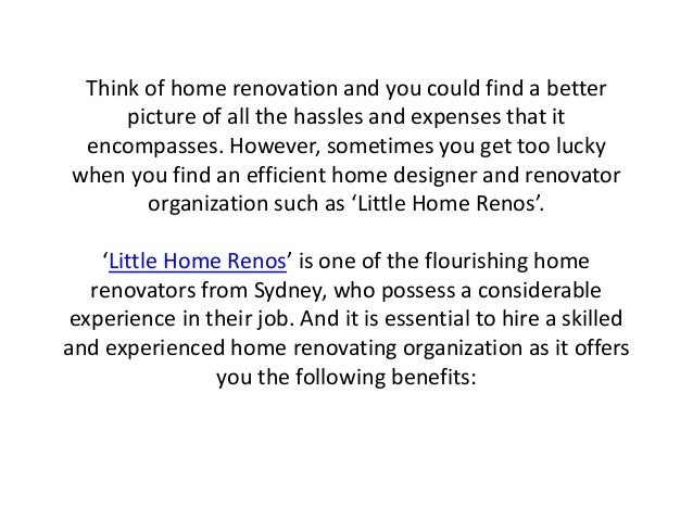 Stunning Hiring A Designer For Home Renovation Gallery - Amazing ...
