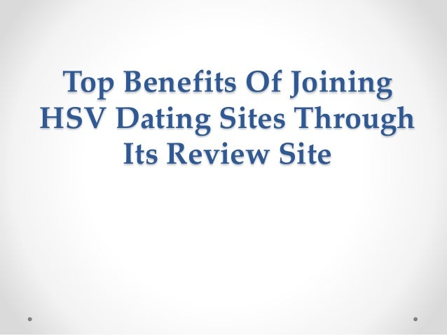 Benefits of dating locally