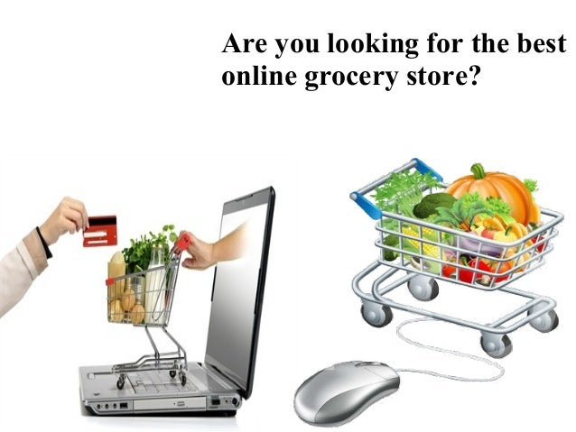 Grocery store online shopping