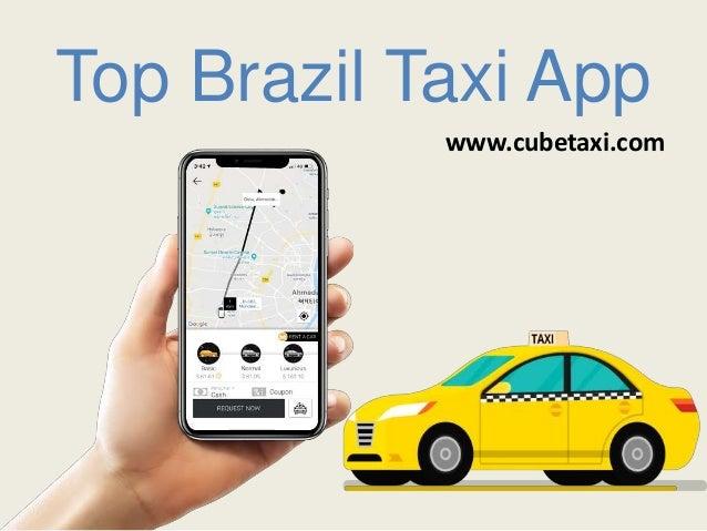 Top Brazil Taxi App www.cubetaxi.com